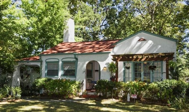 Spanish Revival Greensboro Historic Homes For Sale